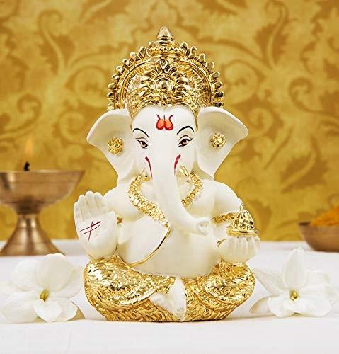 """Lored Ganesha Idol (Eco Friendly) 14"""""""