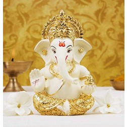 Lored Ganesha Idol (Eco Friendly) 14""